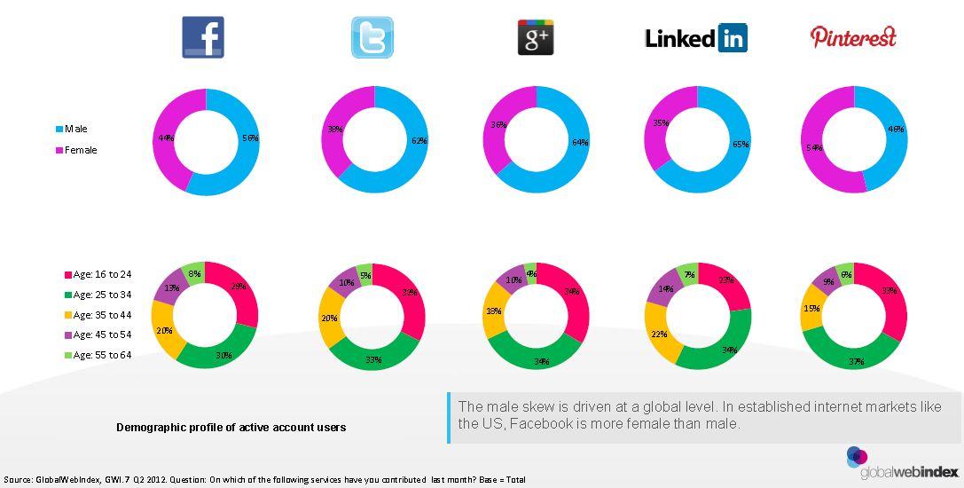 Social Platform Demographics